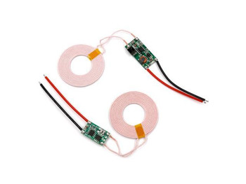 5V 2A Wireless Transmitter Receiver Charging Coil