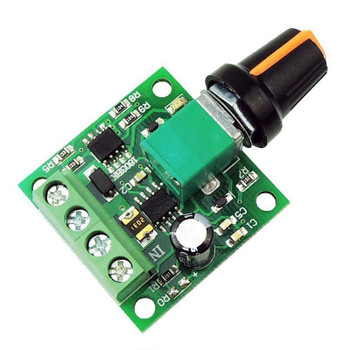 DC 1.8 - 12V 2A PWM Motor Speed Controller