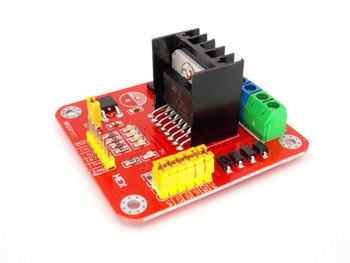 L298N Dual Bridge DC stepper Motor Driver Board