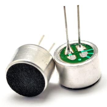 Electret condenser pickup microphone