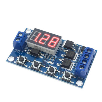 Relay Trigger Cycle Timer Delay Module