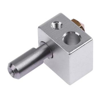 MK10 extrusion head kit M7 nozzle + aluminum block + throat