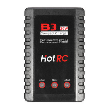 B3 20W 2-3S Lipo Battery Compact Charger