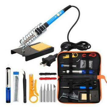60W 220V Electric Soldering Iron Tool Kit