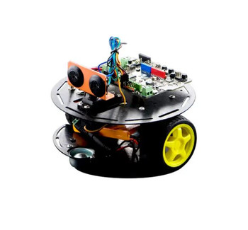 Turtle 2WD Basic Arduino Robot Kit with Romeo Support IOS