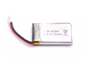 Lithium Ion Battery - 3.7V 600mAh