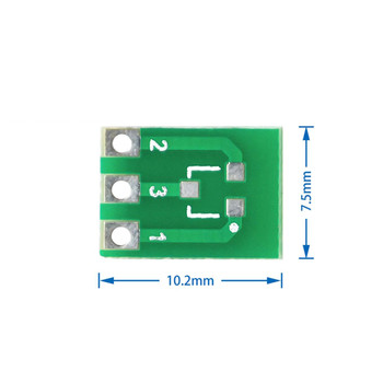 SOT89 SOT223 to DIP PCB Transfer Board