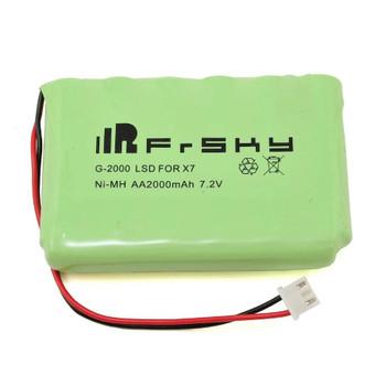 FrSky 2000mAh LSD NiMH Battery Pack Taranis Q X7