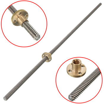 750 Lead Screw with Brass copper Nut T8*2mm