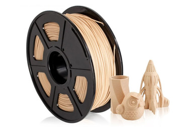 1.75mm 1Kg Wood PLA Filament