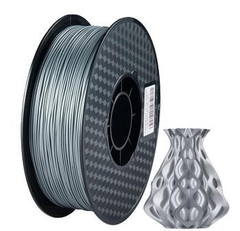 1.75mm 1Kg Silver PLA Filament
