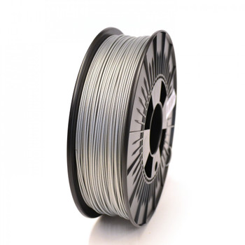 1.75mm 1Kg Silver ABS Filament
