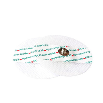 Disposable ECG electrode sheet