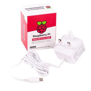 Raspberry Pi 4 Official UK Supply (5.1V 3A)