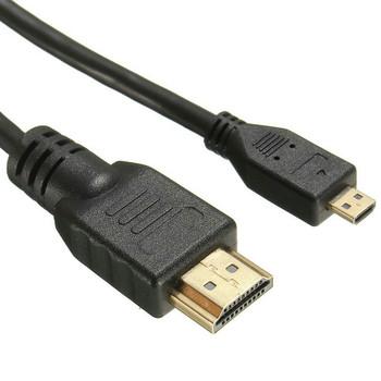 Micro HDMI to HDMI Cable - 1.5M