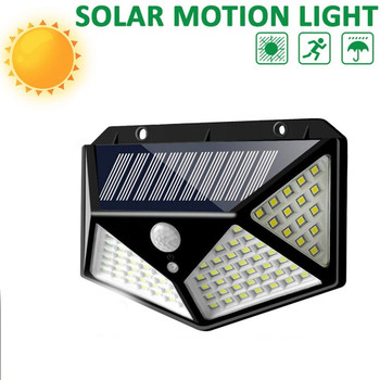 208LED Single Crystal Solar Body Sensing Outdoor Lamp