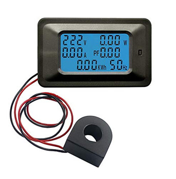 250V 100A Digital Power, Energy, Voltmeter & Ammeter Monitor