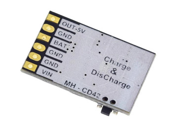 DC 5V 2.1A Charge/Discharge(boost) battery Module