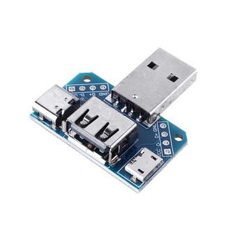 USB Adapter Male Head To Female Head Micro Type-C