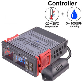 STC-3028 Digital Temperature Humidity Controller