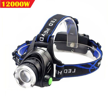 200LM LED XPL-V6/L2/T6 10W Headlamp IR Sensor Headlight