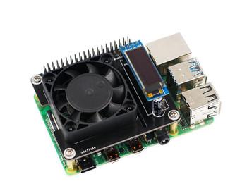 Raspberry pi 4B intelligent temperature control Cooler