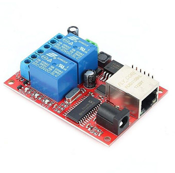 2 channel Relay Delay Switch TCP/UDP Controller Module