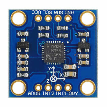 LSM303DLH 3-Axis Magnetic Field Acceleration Module