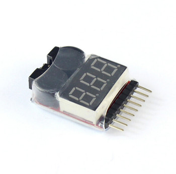 1-8s Lipo Digital Battery Voltage Tester
