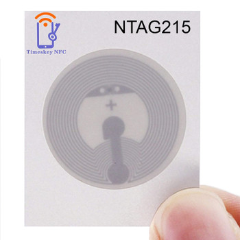 NFC Sticker Ntag215 (Compatible with all NFC Phones)