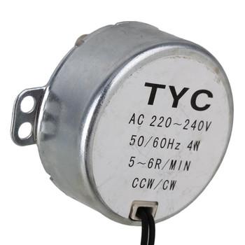 TYC-50 AC240V 50/60Hz Synchronous Motor 5/6RPM CW/CCW