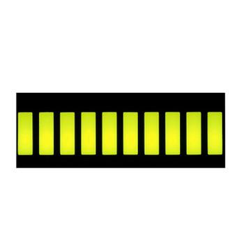 Green 10 Segment LED Display