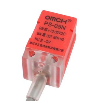 Red PS-05N NPN DC10-30V Inductive proximity Sensor