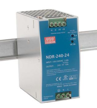 NDR-240-24 24V DC Output 240W 24V 10A Power Supply