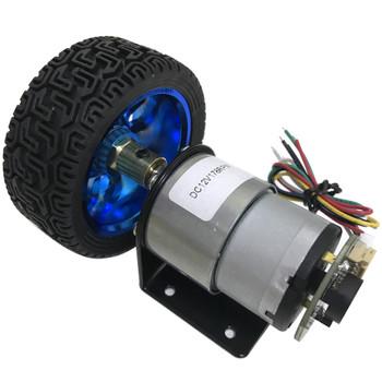 JGB37-520 12V 1580RPM  Encoder Motor plus wheel Kit