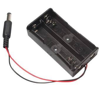 18650 7.4 battery box with DC plug