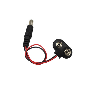 9V Battery Snap Power Cable