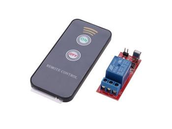 IR Relay Driver Module + Active Remote Controller