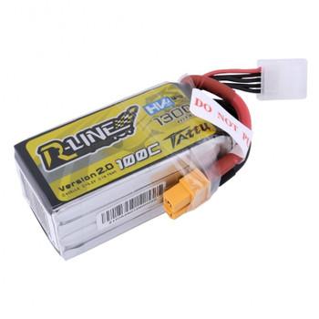 1300mAh 100C 4S1P 14.8V Lipo Battery