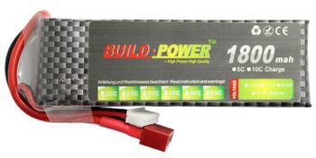 1800mAh 25C 3S 11.1V Lipo Battery