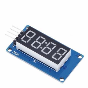 7 Segment 4 Bits Clock Digital  Anode Tube