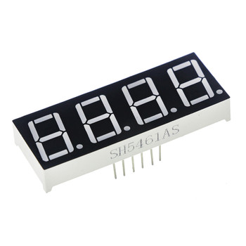 7-Segment Display - 4 Digit (Red) 0.56""