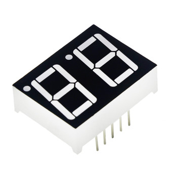7-Segment Display - 2 Digit (Red)