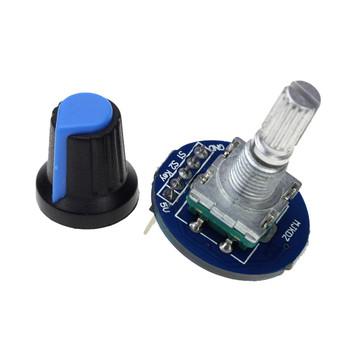 Rotary encoder/potentiometer module