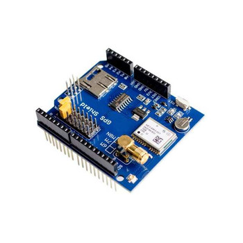GPS record expansion board with SD slot card