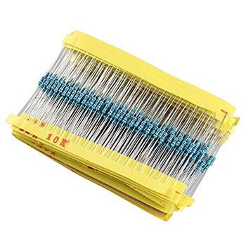 1/4W color ring resistor Kit (600 Total)