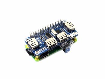 4 Port USB HUB HAT for Raspberry