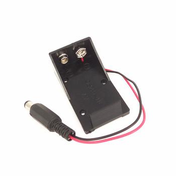 9V Battery Holder Box DC Plug