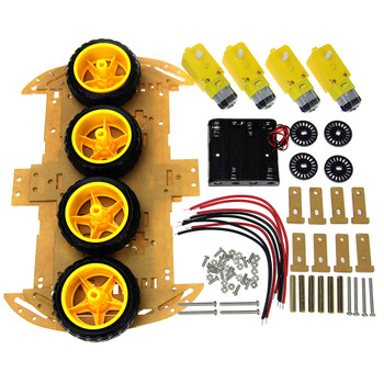 Robot Chassis 4wd 4 motor
