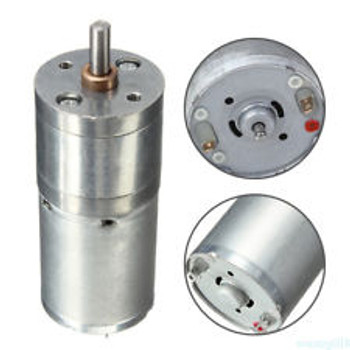 DC Motor 12V 130rpm 4mm center shaft